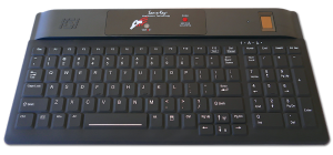 1802r SX Backlit Compact Security Keyboard