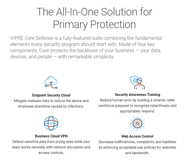 The All in One Solution for Primary Protection